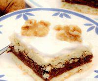 Prăjitură cu nuci