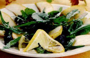 Salata cu pere, macris si rucola