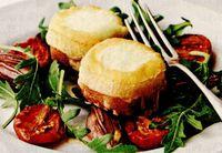 Salata de ruccola cu branza de capra