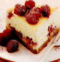 Cheese cake cu zmeură