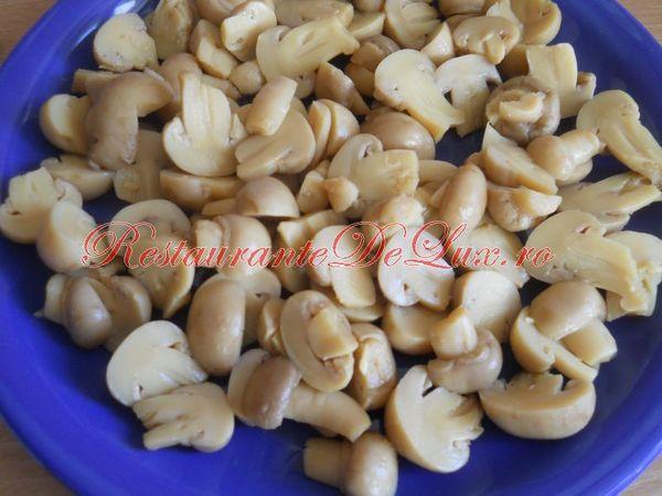Mancare de ciuperci cu fenicul