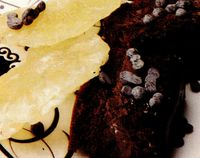 Prăjitură cu ananas confiat