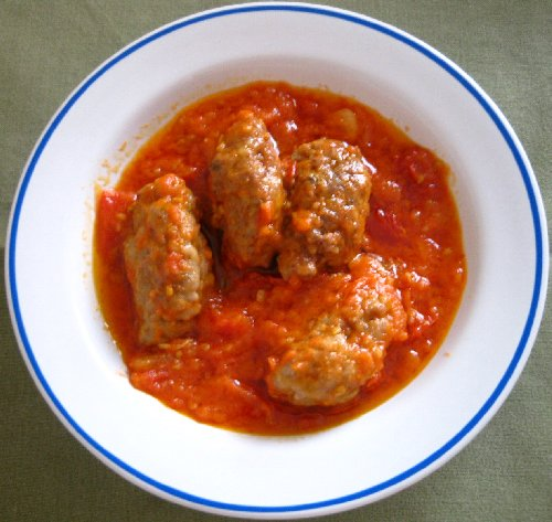 Chiftele grecesti (Soutzoukakia)