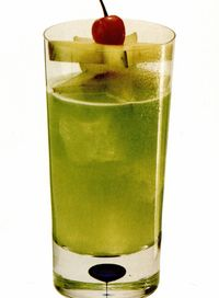 Cocktail Green Summer
