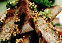 Pulpa de porc cu sos de mustar