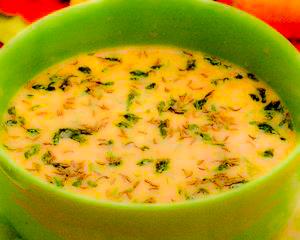 Supa de chimen cu grâu