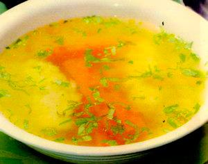 Supă de viţel cu găluşte