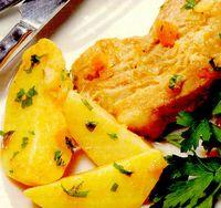 Cartofi cu fleica de porc