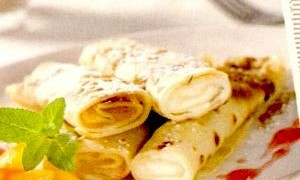 Clatite cu cartofi si mere