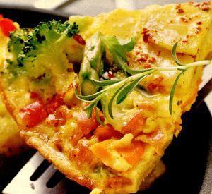 Omleta taraneasca cu cartofi si legume