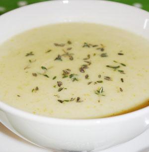 Retete de post: Supa crema de conopida