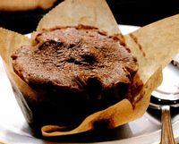 Briose cu ciocolata calda