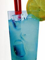 Cocktail Blue Pitu