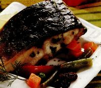 Peşte la cuptor, în stil românesc