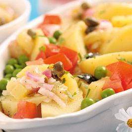 Salată de cartofi cu mazăre