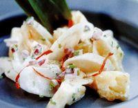 Salata de pastarnac cu ananas si chili