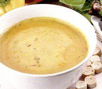 Supa crema de legume si curry