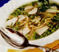 Supă de curcan şi mazăre