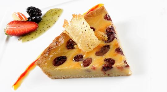 Deserturi delicioase: Tarta cu visine