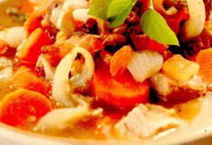 Ciorbă de legume (Harira)