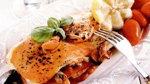 Lasagna cu fructe de mare
