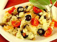 Retete de post: Mancare de orez cu ciuperci