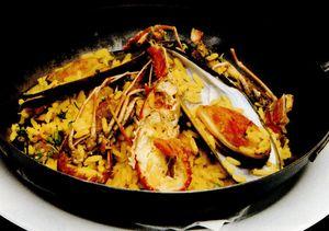 Retete delicioase: Paella Marinera