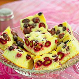 Prăjitură cu struguri