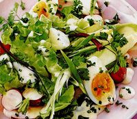 Salata de primavara cu masline