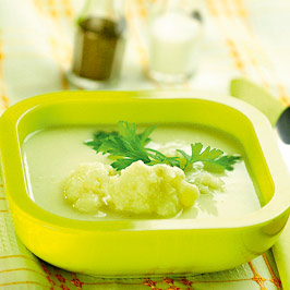 Supă de conopidă