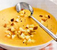 Supa crema de morcovi cu smantana