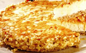 Tartă crocantă cu brânză