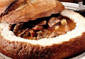 Tocanita in paine