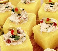Aperitive cu salata de peste