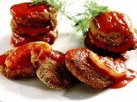Chiftele de praz cu sos de roşii