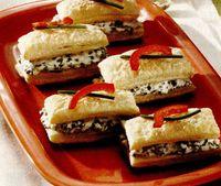 Pateuri cu brânză cu mucegai