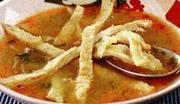 Supă de chimen cu fidelută din omletă