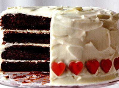 Tort Catifea Rosie (Red Velvet Cake)