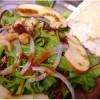 Salată_cu_mere_nuci_şi_afine