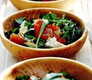 Salată cu grepfrut