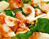 Salata cu peste prajit