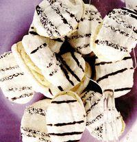 Sandvişuri de bezea umplute cu crema de nuci
