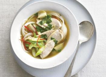 Supă de curcan asiatică