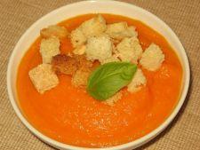 Supa crema de morcovi cu ghimbir si cartof dulce