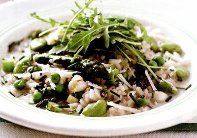Retete culinare: Risotto primavera