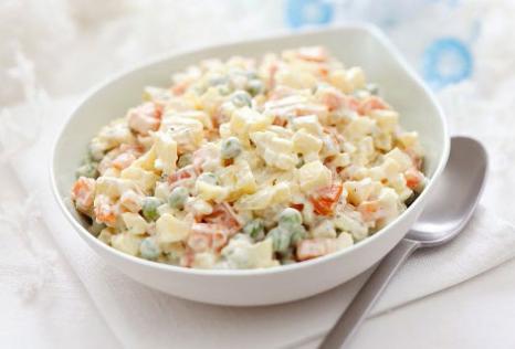 Retete internationale: Salată rusească