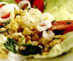 Salată cu mentă