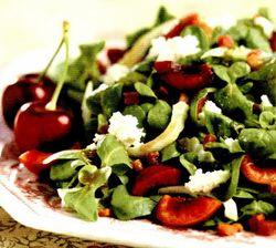 Salata de cirese cu pancetta