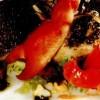 Salata_de_pastrav_brun_si_pancetta_crocanta