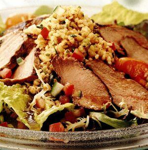 Salată de raţă marinată cu bulgur